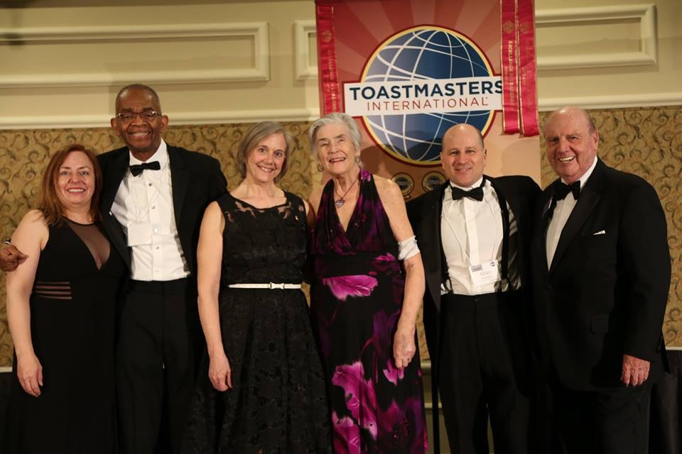 Academy member Phyrne Parker receives the George Keenan Award from District 60 Toastmasters - 2018