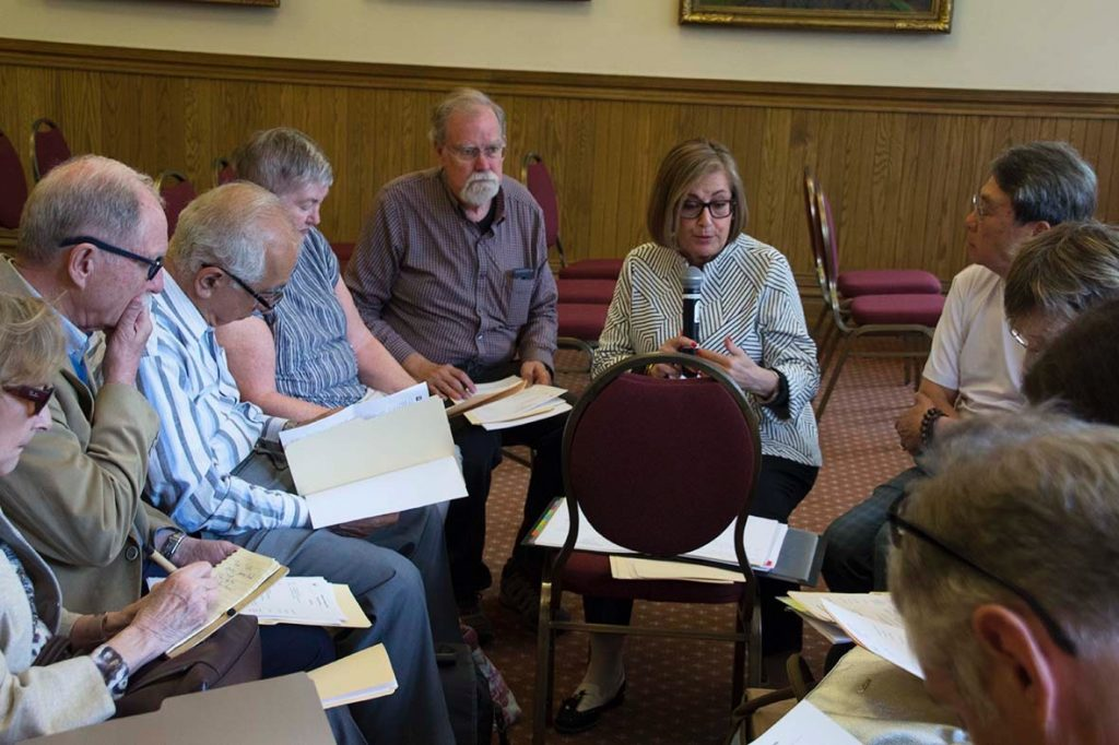 The new Board gets to work right away after the AGM
