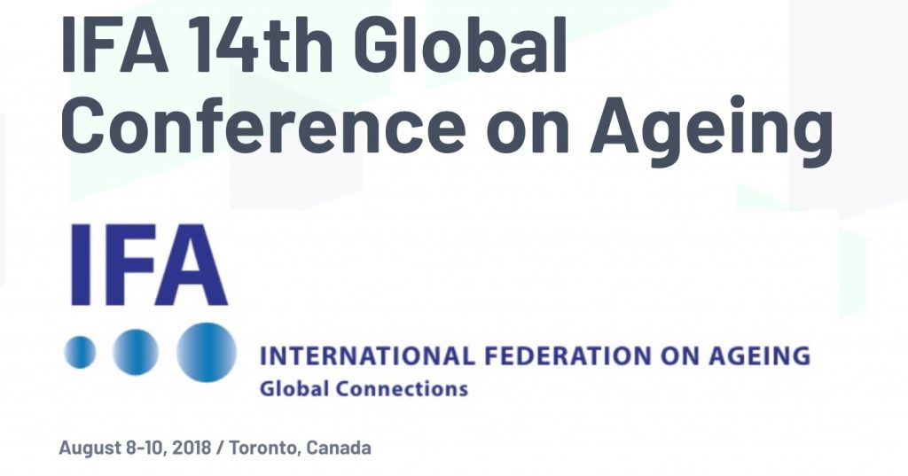 Sheilagh Hickie Participates with TAN at International Conference on Ageing
