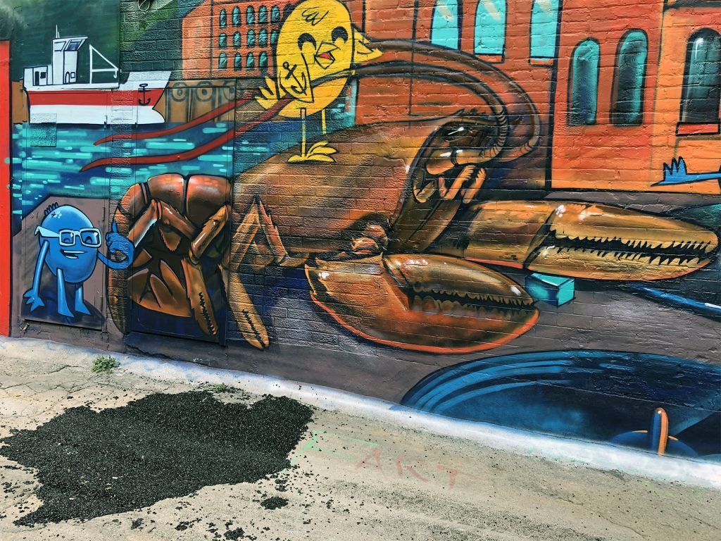 Bridget Hough captured some of Toronto's interesting street art