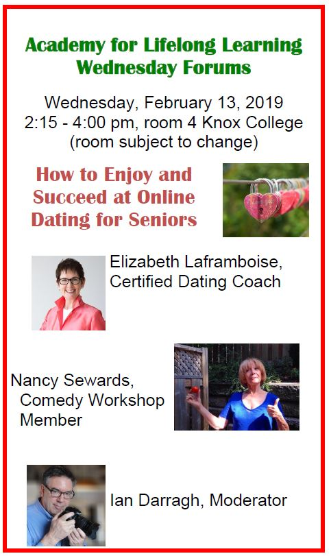 Academy Forum – How to Enjoy & Succeed at Online Dating for Seniors