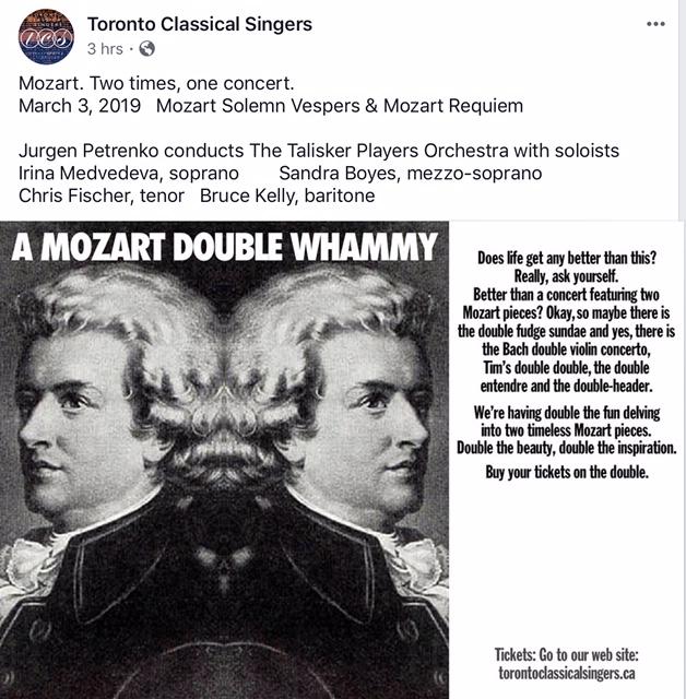 A Mozart Double Whammy