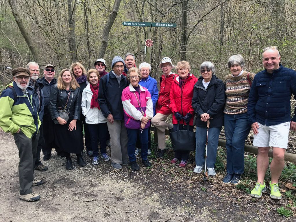 The season's first walk - May 7 to the Brickworks